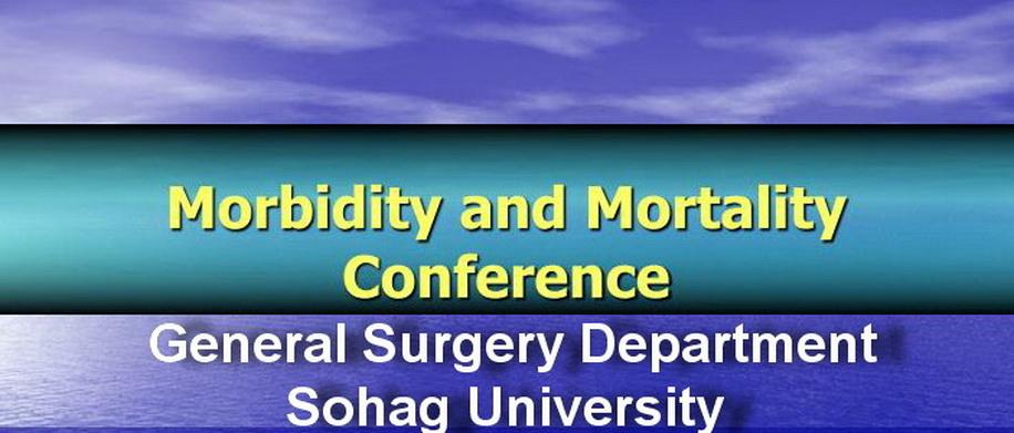 Mortality and Morbidity Conference Task
